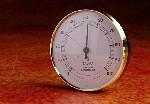 Hygrometer, rond