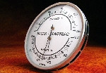 Stoombad Thermo-Hygrometer RVS
