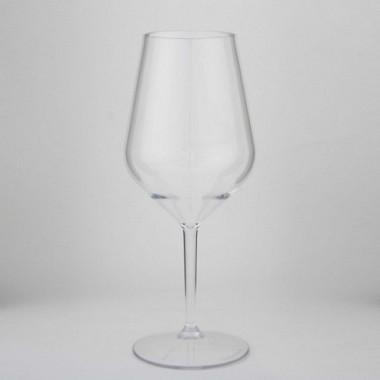 Wine glass backstage per set van 2