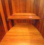 Instap/zitting Lariks-Kambala 80 cm tot 120 cm breed
